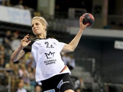 Német játékos a győri kézilabda csapatában