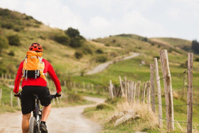 biciklizés a szabadban