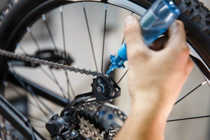 karékpár karbantartás házilag lánc olajozás