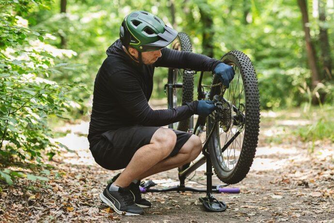 bicikli lánc visszarakás