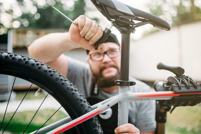 kerékpár ülés beállítás