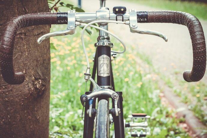 két forgáspontos kerékpár fék
