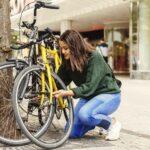 kerékpár lakat használata