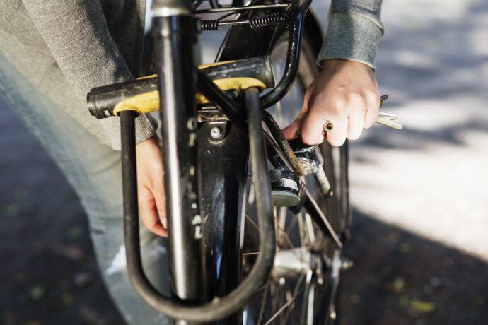 kerékpár lakat fajta u lakat